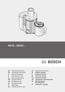 Bosch MES3000 pagina 1