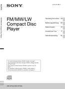 Sony CDX-GT44U страница 1