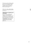 Sony CDX-GT44U страница 3