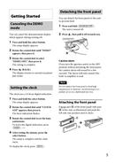 Sony CDX-GT44U страница 5