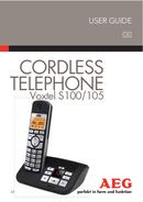 AEG Voxtel S100 sivu 1