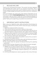 AEG Voxtel S100 sivu 3