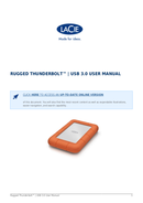 Pagina 1 del LaCie Rugged