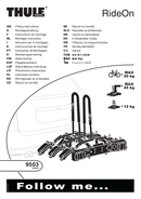 Thule RideOn 9503 page 1