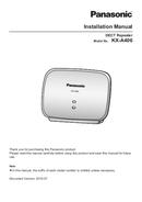 Panasonic KX-A406 page 1