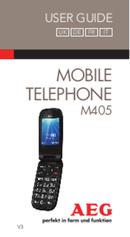 AEG Voxtel M405 sivu 1