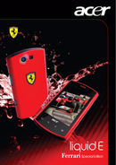 Acer Liquid E Ferrari sivu 1