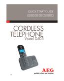 AEG Voxtel D505 sivu 1