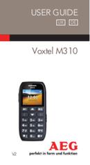 AEG Voxtel M310 sivu 1