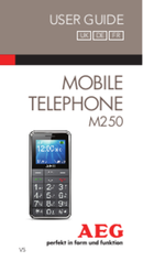 AEG Voxtel M250 sivu 1
