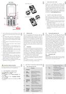 AEG M1220 sivu 1