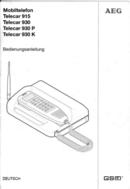AEG Telecar 930 sivu 1