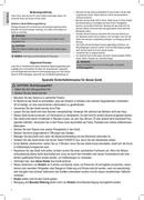 Página 4 do Clatronic CL 3672