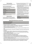 Página 5 do Clatronic CL 3542