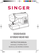 Singer Brilliance 6180 pagină 1