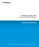 Pagina 1 del BlackBerry Storm 9530