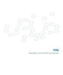 Pagina 1 del BlackBerry Pearl 8130