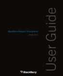 Pagina 1 del BlackBerry Passport SQW100