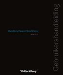 Pagina 1 del BlackBerry Passport 10.3