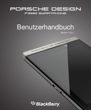 Pagina 1 del BlackBerry Porsche Design P9982