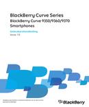 Pagina 1 del BlackBerry Curve 9370