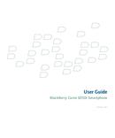 Pagina 1 del BlackBerry Curve 8350i