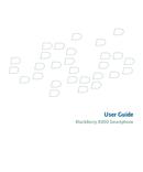 Pagina 1 del BlackBerry Curve 8300