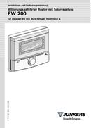 página del Bosch FW 200 1