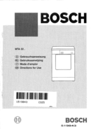 página del Bosch WTA3200 1