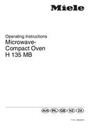 Página 1 do Miele H 135 MB