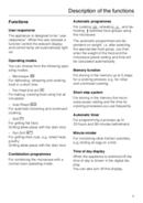 Página 5 do Miele H 135 MB