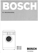 Bosch WFK2001 pagina 1