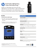 HP Flash Drive page 1