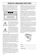 Yamaha Clavinova CLP-240 page 2