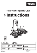 Thule VeloCompact 925 page 1
