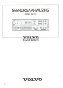 Volvo SR-701 Seite 1