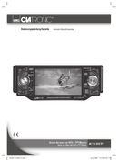 Página 1 do Clatronic AR 773 DVD TFT
