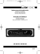 Página 1 do Clatronic AR 600 CD