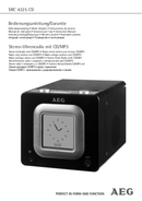 AEG SRC 4325 CD side 1
