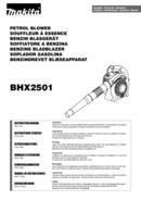 Makita BHX2501 side 1