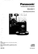 Panasonic RXDS11 page 1