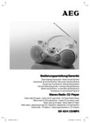 AEG SR 4314 CD/MP3 page 1