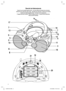 AEG SR 4314 CD/MP3 page 3