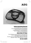 AEG SR 4310 CD/MP3 page 1