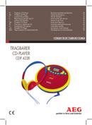 AEG CDP 4228 page 1