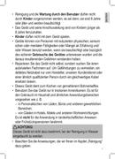 Página 3 do Clatronic KA 3327
