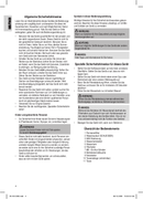 Página 4 do Clatronic KA 3356
