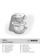 Bosch MUM57810 Styline pagina 1
