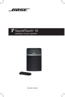 Bose SoundTouch 10 Seite 1
