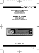 Página 1 do Clatronic AR-615